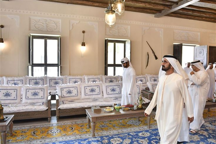 Sheikh Mohammed reviews progress of Shindagha Heritage Project