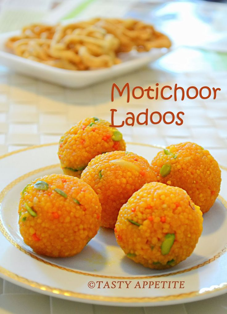 Tasty Appetite: MOTICHOOR LADOO / HOW TO MAKE MOTICHOOR LADOO / EASY DIWALI SWEETS RECIPE