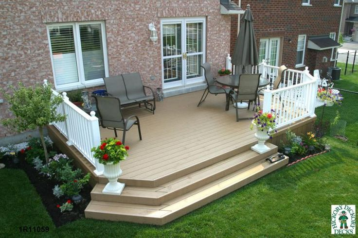 810 540 Decks Pinterest Backyards Diy Deck And House Ideas