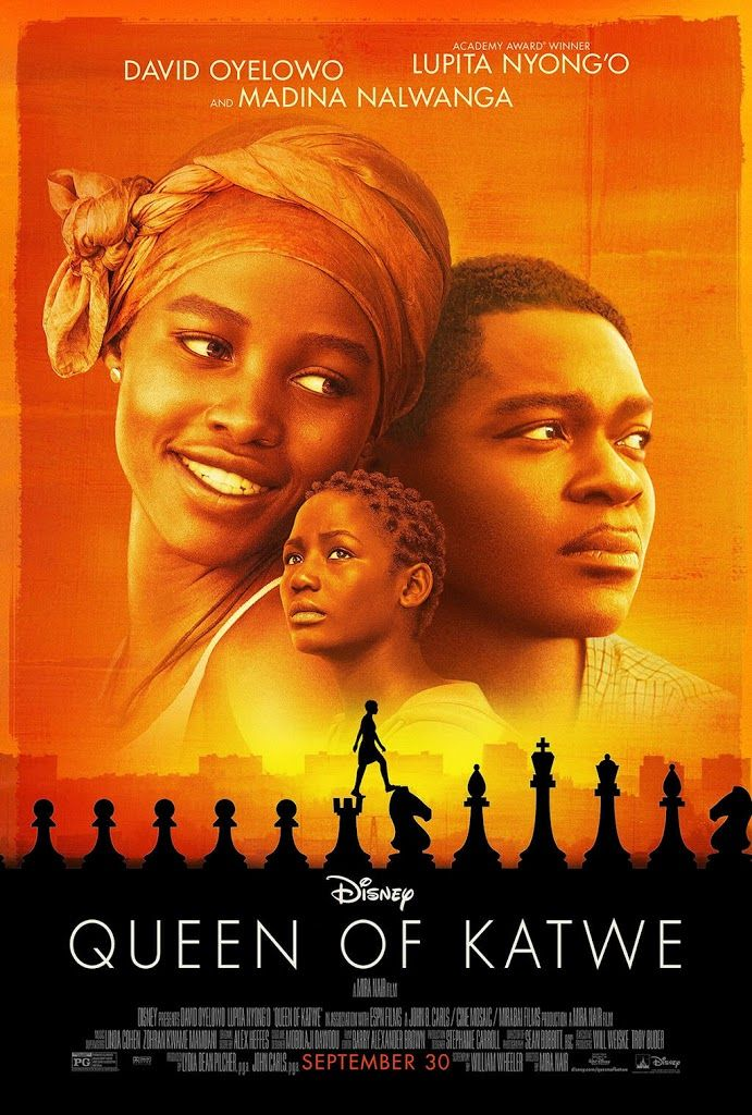 QUEEN OF KATWE movie poster No.2