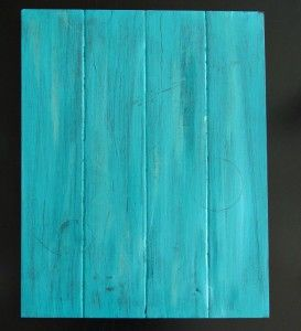 DIY faux wood surface for picture background, made out of foam poster board!