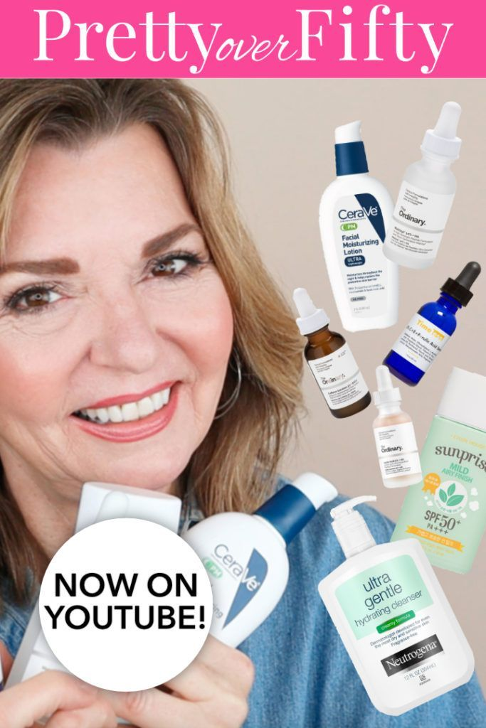 Over 50 Skin Care Routine This Is An Easy To Follow Step By Step Tutorial Antiaging Over50 Ma Morning Skin Care Routine Skin Care Women Skin Care Steps