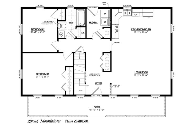 40x40 floor plans google search barndo plans