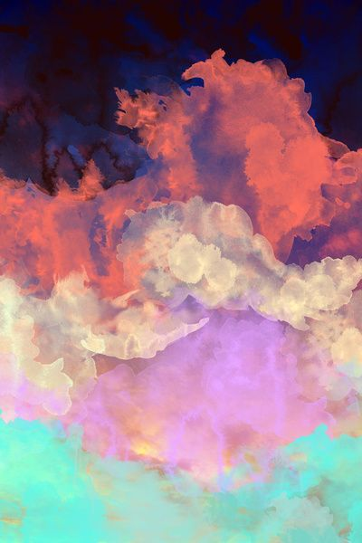 Beautiful Things | Art | Clouds | Into The Sun Art Print