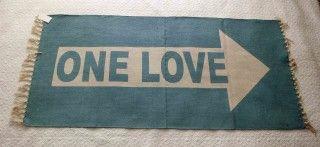 """Dywanik Skandynawski """"One love"""""""