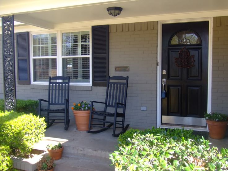 Painted Brick House Before And After | Brick Decision! | Silverfox + Goldilocks