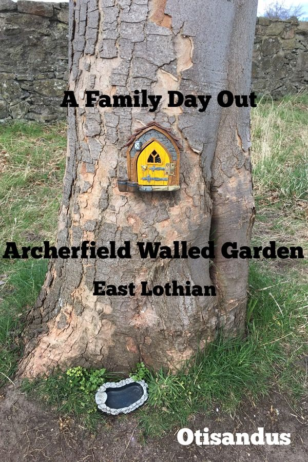 A Family Day Out at Archerfield Walled Garden, East Lothian - Otis & Us