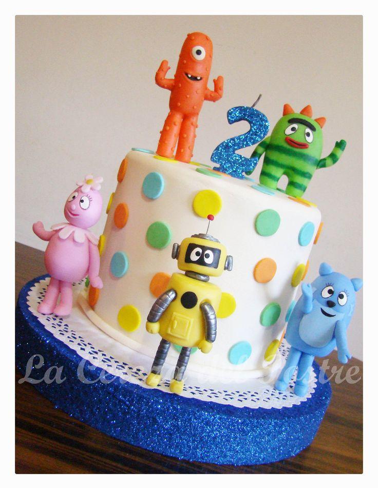 Yo Gabba Gabba Torta #Cake #pastel #bolo #yogabbagabba #cumpleaños #birthday
