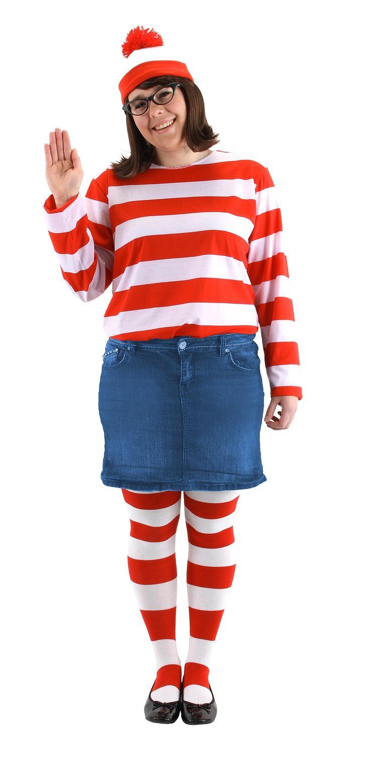 Wheres wally fancy dress plus size