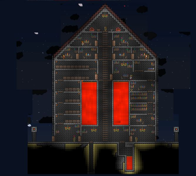 Pin By D G On Terraria: 18 Best Terraria Projects Images On Pinterest