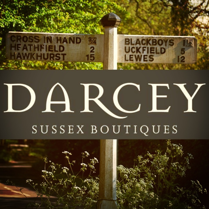 Darcey Sussex Boutiques.. In Lewes & Heathfield, East Sussex