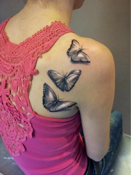 lace print butterfly tattoo - Google Search