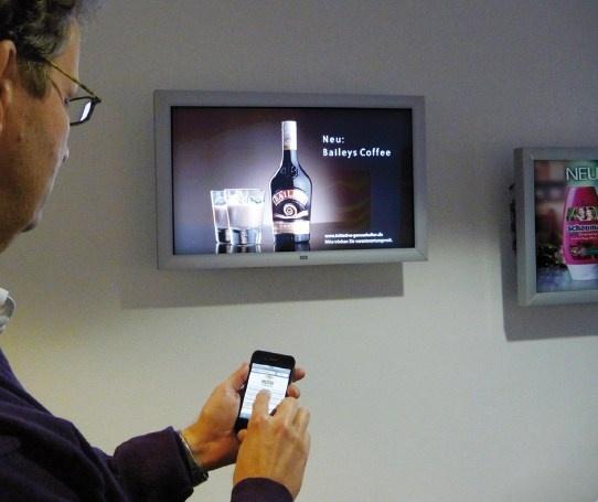 ¿demasiado stock de un producto? pues lo promociono en la pantalla sin moverme del punto de venta.   Mobile Browser para cambiar el contenido de las pantallas desde al teléfono móvil. La forma más rápida de cambiar los contenidos según las necesidades...