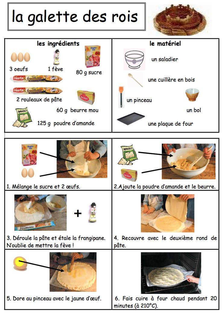 Les 32 meilleures images du tableau epiphanie diy recipes sur pinterest galette des rois - Recette facile galette des rois ...