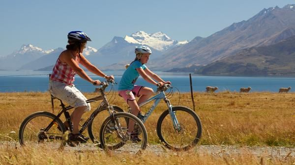 Easy riding on New Zealand's new cycle trail.  On my bucket list!
