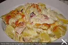 Blumenkohl - Kartoffel - Auflauf, ein gutes Rezept aus der Kategorie Auflauf…