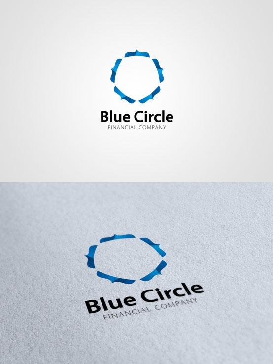Blue Circle #logo #design $300