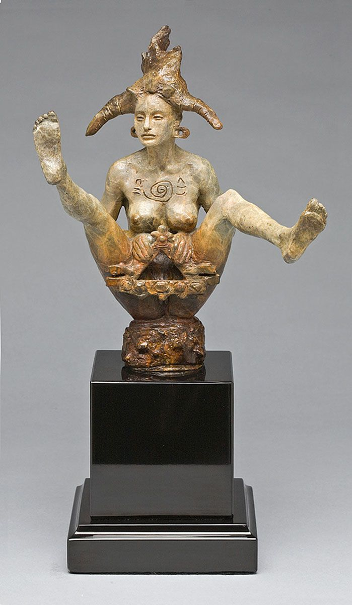 Goddess of the triangle - George Lafayette | Figurative ...