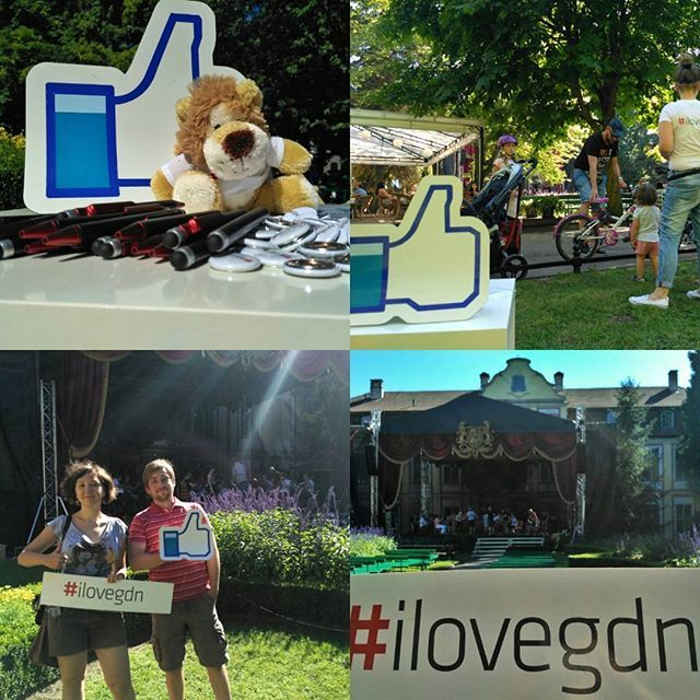 Drop by and feel the power of #ilovegdn. And catch some pokemons ;) #PokemonGo