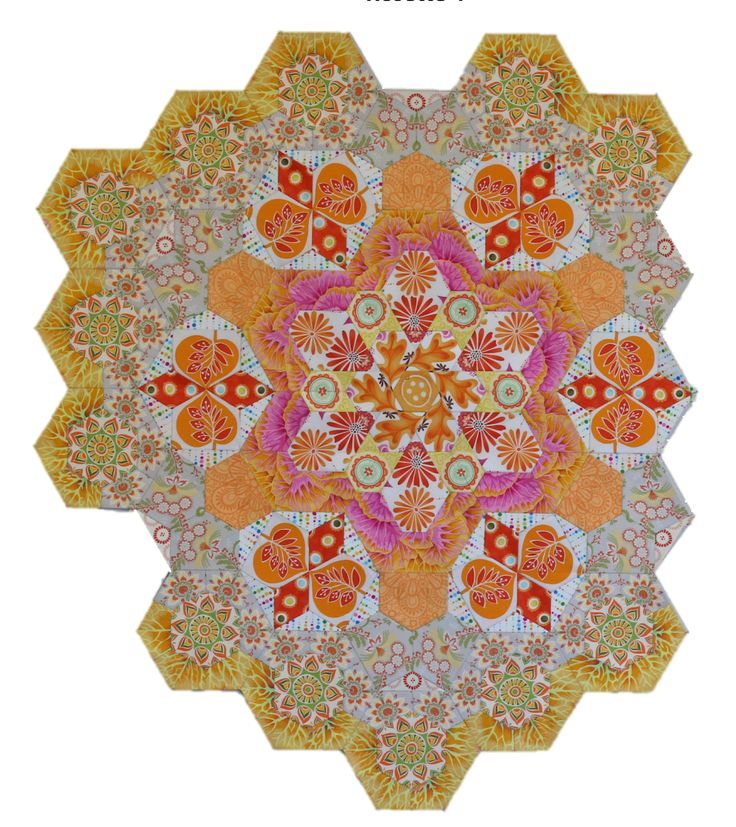 17 Best images about New Hexagon Millefiori on Pinterest Quilt - triangular graph paper