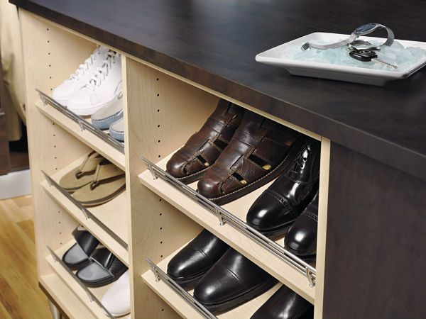shoe racks for closets | Cubbies for shoes. Cubbies work well for holding shoes, but it's ...