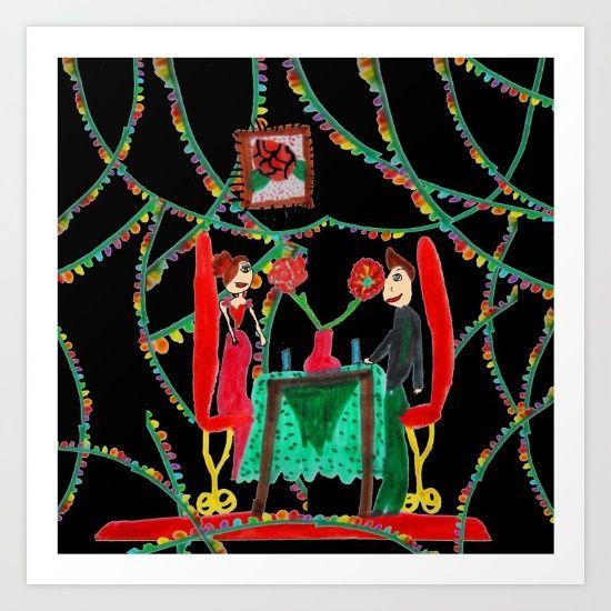 Christmas Dinner | Kids Painting - $17.68