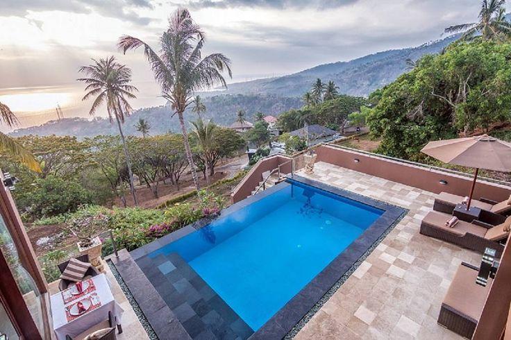 Villa Giuliana | 3 bedrooms | Sengigi, Lombok #lombok #villas #hill