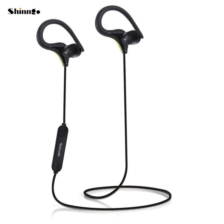 Sport Wireless Bluetooth Earphone Neckband Headphone in-ear Earbud with Ear-Hook
