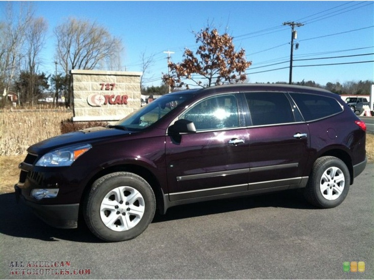 Chevrolet Traverse (Dark Cherry Metallic) ~ I have this ...