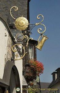 Rudesheim is one of my favorite wine stops in Germany
