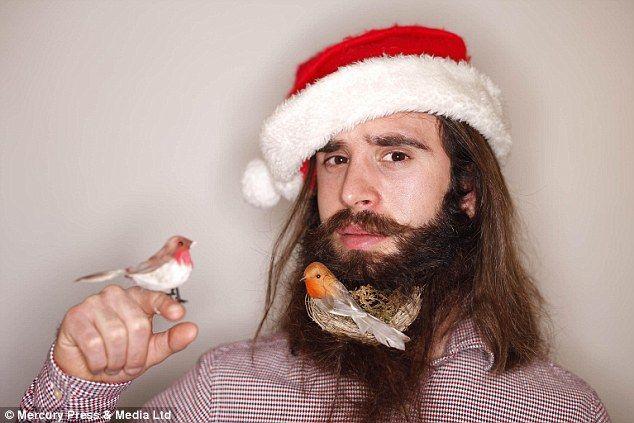 A birdy beard