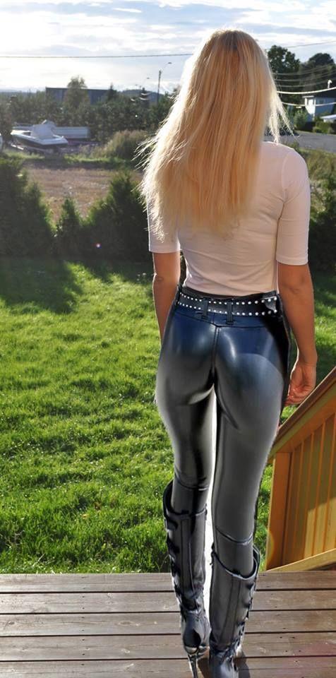latex byxor sexy pantyhose