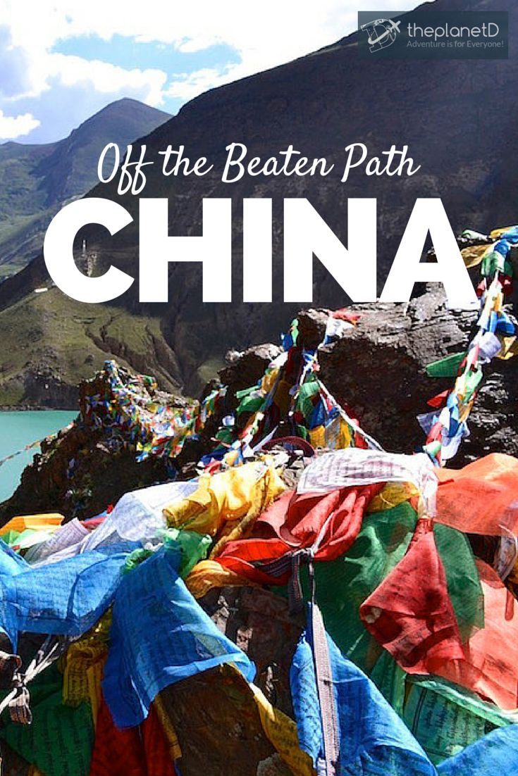 """From breathtaking natural scenery to vibrant minority culture, China's """"off the beaten path"""" destinations have so much to offer. With cheap budget flights and overnight trains, there's no reason not to explore outside the cosmopolitan East Coast 