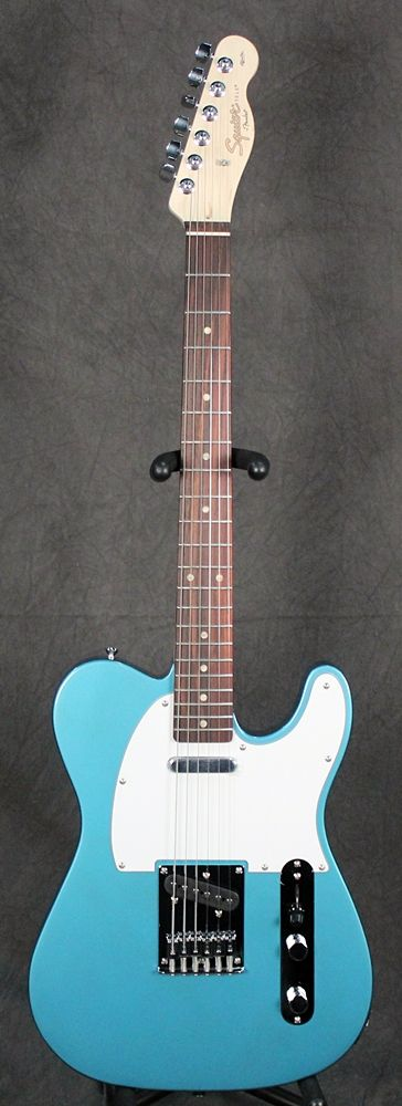 Full Front Squier Affinity Telecaster – Lake Placid Blue