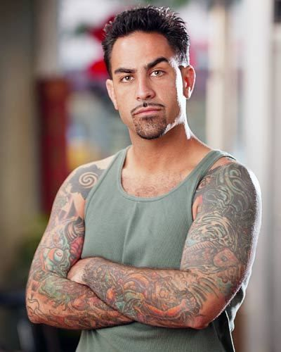 americanentertainment Chris Nunez owns Handcrafted Tattoo and Art Gallery in Miami and also is a host on the popular show Ink Master