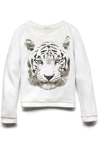 Tiger Eyes Sweatshirt (Kids) | FOREVER21 girls - 2000110746