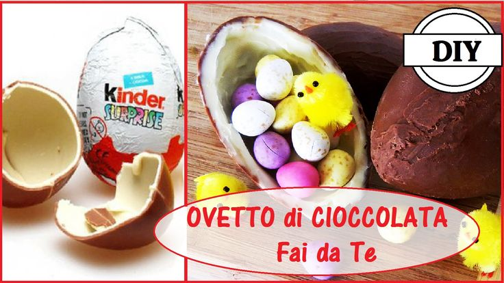 Ovetto Kinder Sorpresa Fai da Te - DIY Kinder Surprise Egg