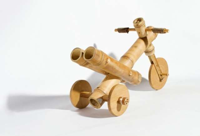 DIY Bamboo Bicycles : build your own bike