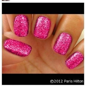 Rockstar-gloss red crystal glitter