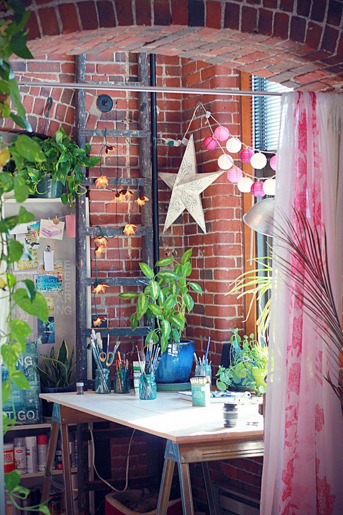 Mae Chevrette's studio