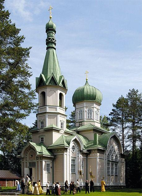Pyhän Johannes Kastajan kirkko  Suomen ortodoksinen kirkko Polvijärvi