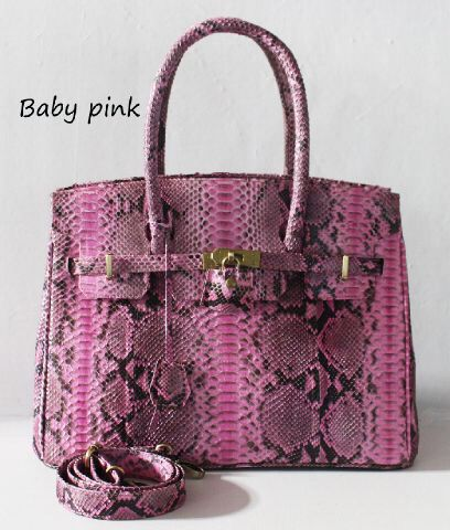 Replica Hermes, material real snake skin, lots of color $180
