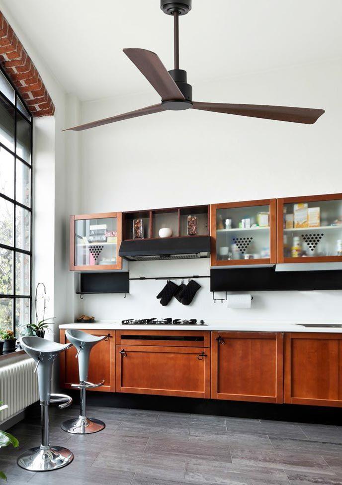 123 best ventiladores de techo sin luz images on pinterest - Ventiladores de techo sin luz ...