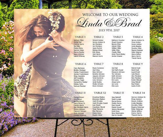 40 best Wedding Seating Charts images on Pinterest Wedding - wedding chart