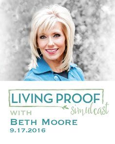 Find this Pin and more on hair style. Beth Moore Living Proof Simulcast –  New ...