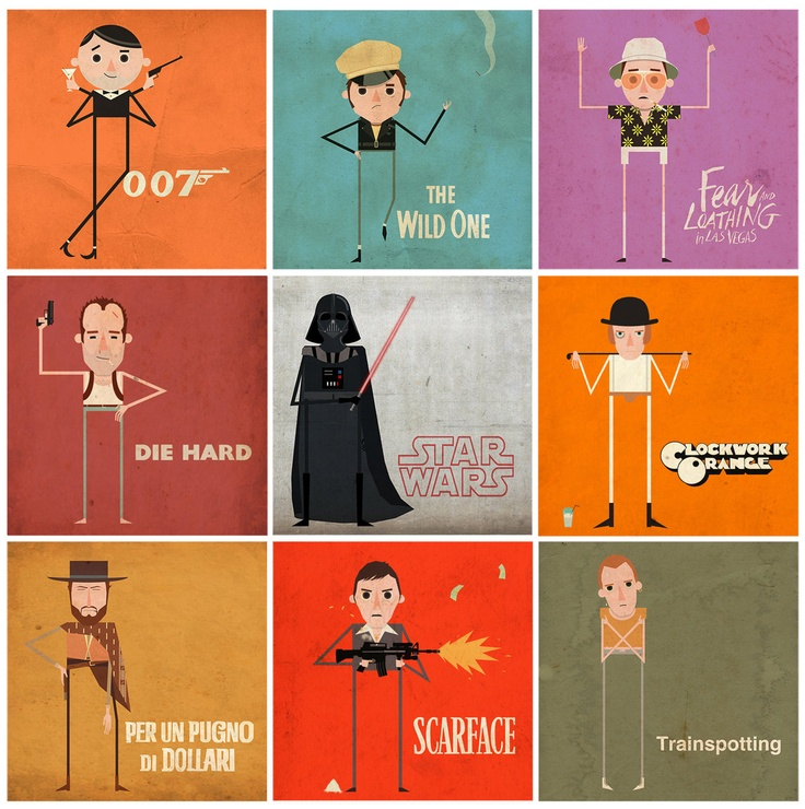 Great Films, Great Caracters by Echoes83