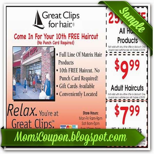 Great clips coupons printable january 2018