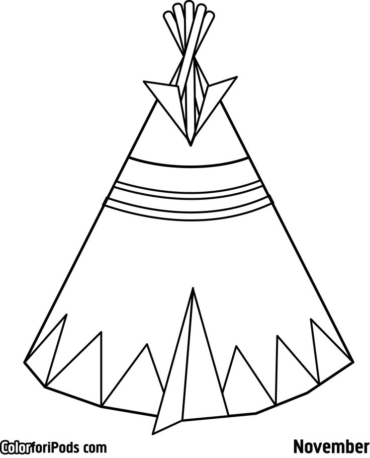 sioux coloring pages - photo#48
