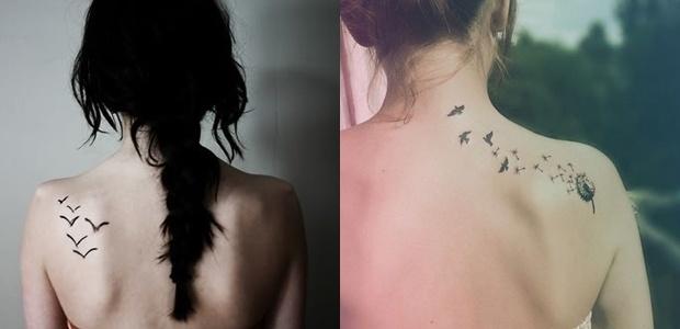 Inspiração: Tatuagens de pássaros. | Overdose V.I.P