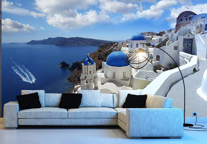 Fototapeta Grecja Santorini